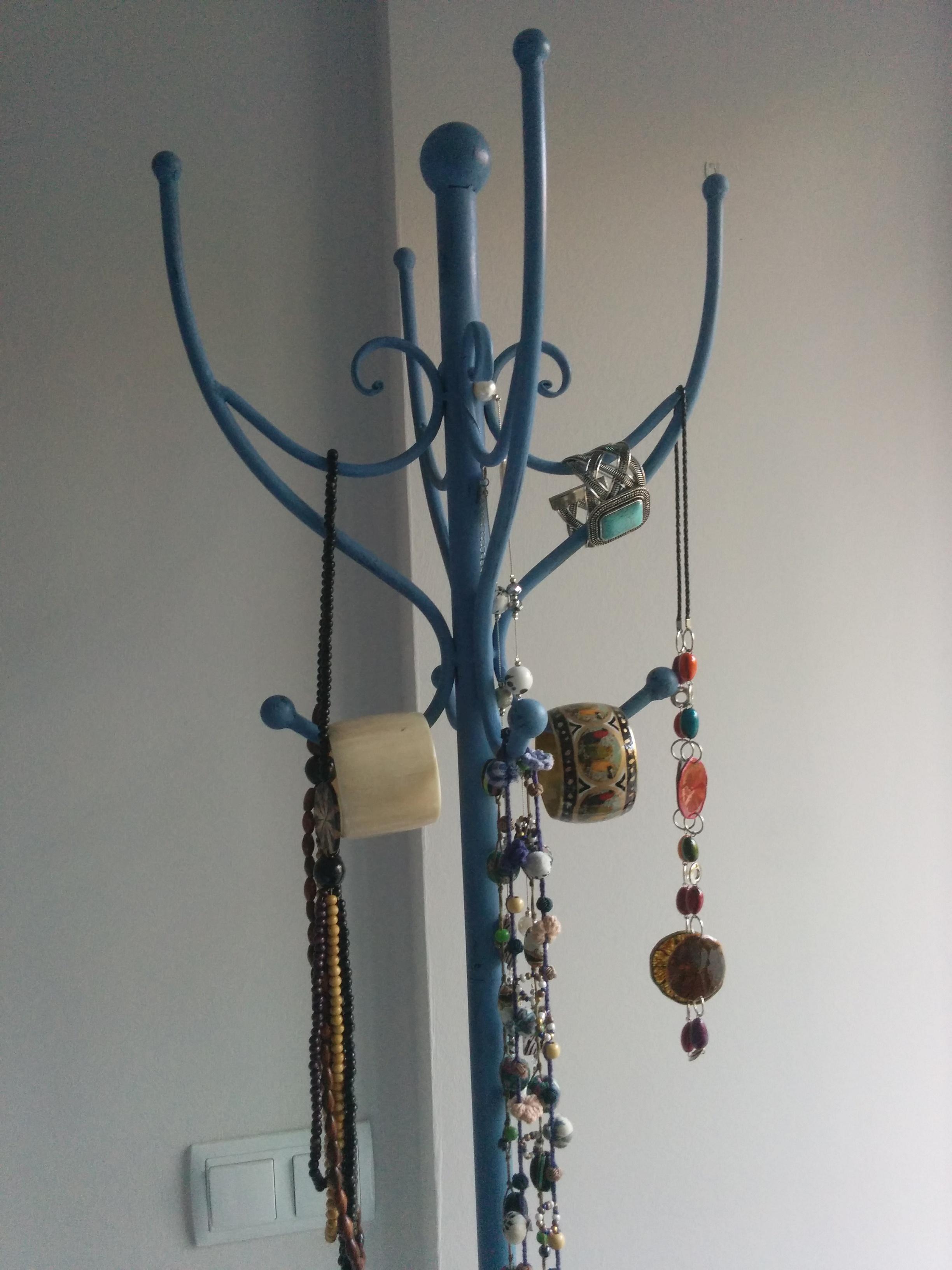 Perchero Greek Blue