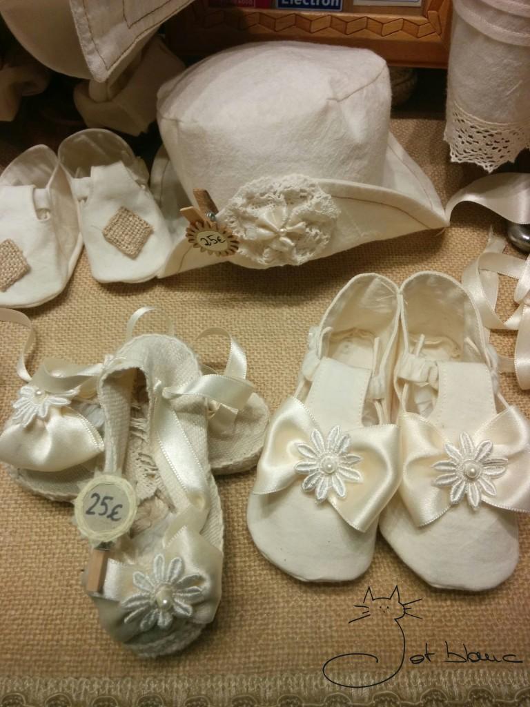 Barret, sabates amb seda