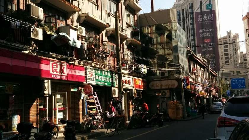Primeros pasos por Shanghai